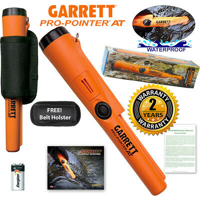 Garrett Pro Pointer AT Pinpointer Metal Detector Waterproof ProPointer & Holster