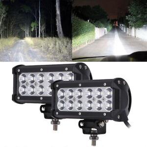 Marine Spreader Lights LED Light Deck/Mast lights for boat 36W 9v-30v DC spot X2