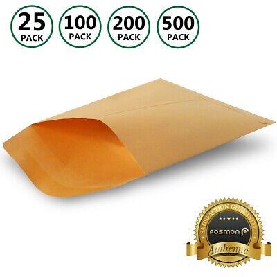 6 X 9 Kraft Gummed Mailer Envelope Shipping Bag Catalog Manila Letter Card