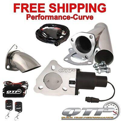 """QTP Quick Time Performance 2.5"""" Electric Exhaust Cutout Kit - QTEC25CPSK2 for sale  Roanoke"""