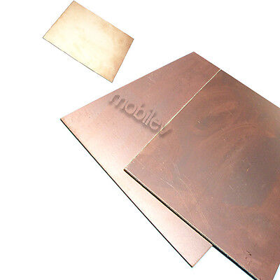 1 Copper Clad Laminate Circuit Boards Fr4 Pcb Double Side 120mmx180mm 12cmx18cm