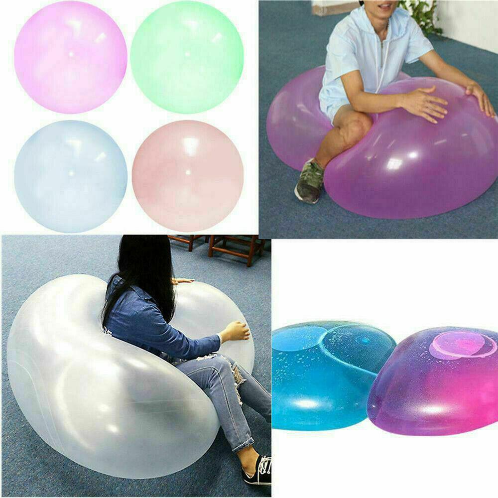 Ball Spielzeug,Interaktiver Ball Aufblasbar f/ür Kinder Aktivit/äten im Freien Earthily Wasserball Bubble