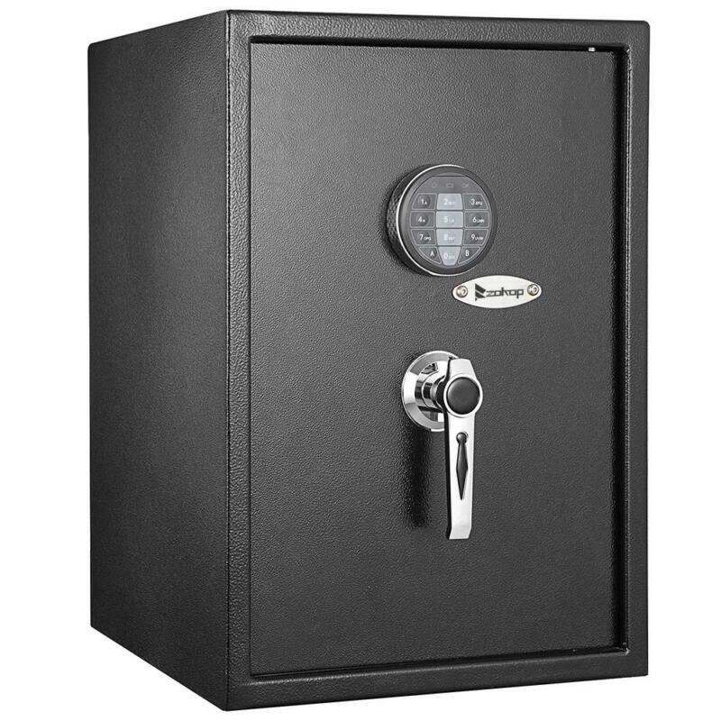 Zokop Digital Safe Box Shotgun Security Cabinet Double-deck Cash Gun Money Home
