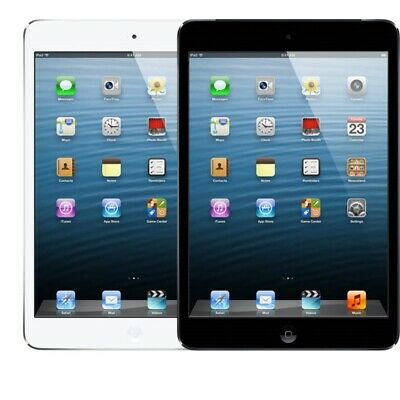 "Apple iPad Mini 7.9"" Tablet with FaceTime (Black/White) (16GB, 32GB, 64GB)"