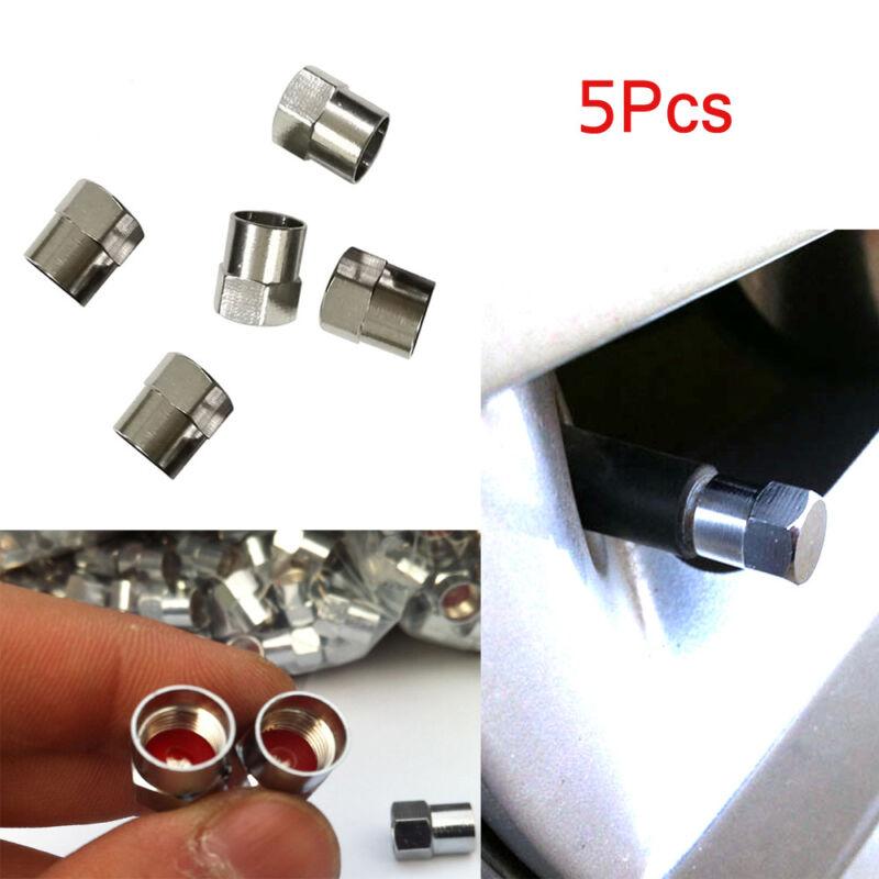1Pcs Bicycle Chrome Tyre Tire Dust Caps Wheel Air Valve Stem Screw Cover Lid  JR
