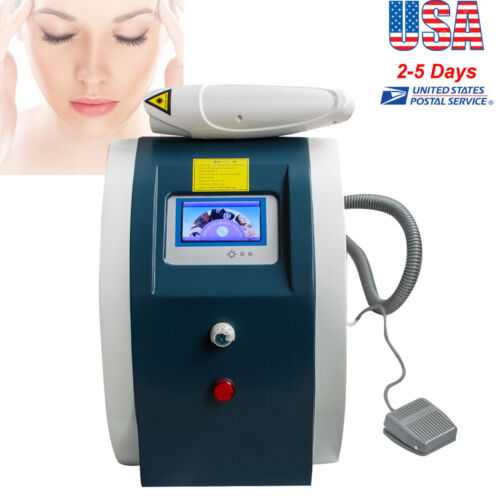 Laser Tattoo Eyebrow Pigment Removal infrared Guide light Beauty Machine us ship