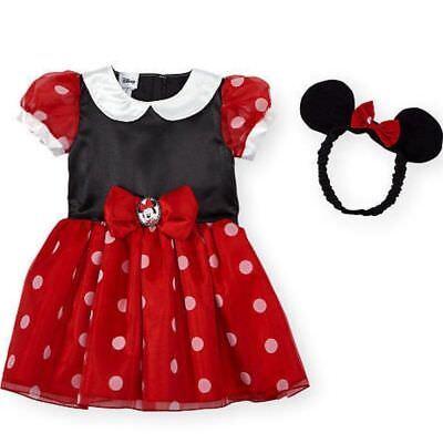 Disney Minnie Mouse Maus Baby Mädchen Kleid + - Mädchen Mickey Mouse Kostüme