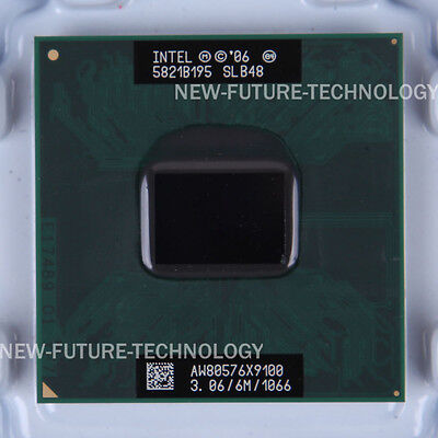 SLB48 - Intel Core 2 Extreme X9100 3.06 GHz CPU 6 MB 1066 MHz US free shipping