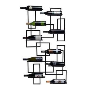 NEW  Oenophilia Mid-Century Wall-Mount Wine Rack Condition: New