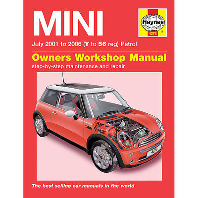 Mini 1.6 Petrol 2001-06 (Y to 56 Reg) Haynes Manual
