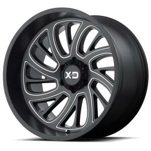 "BLOWOUT! 20x10 XD826 ""Surge"" $1150/SET OF 4 WHEELS!! JEEP Wrangler JK JL 5x127 bolt pattern!"