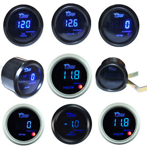 2-52mm-DIGITAL-LED-BOOST-WATER-TEMP-OIL-TEMP-OIL-PRESSURE-TACHO-Meter-GAUGE-AU