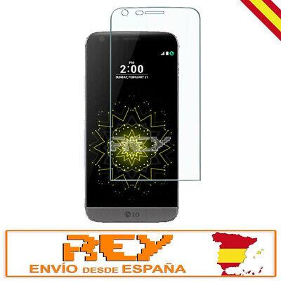 Cristal Templado Completo 3D 5D para LG G5 CURVO Protector NEGRO p801