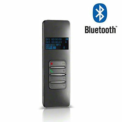 4GB MP3 Player Professional Wireless Bluetooth Digital VOX Audio Voice Recorders