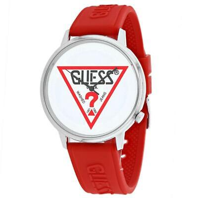 Guess V1003M3 Classic 42MM Men's Red Silicone Watch