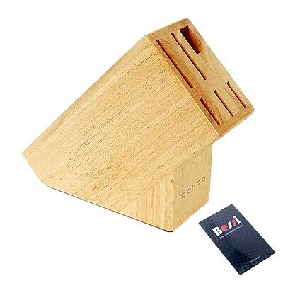 DORCO wooden knife rack/ wood  knife block / knife storage / knife holder