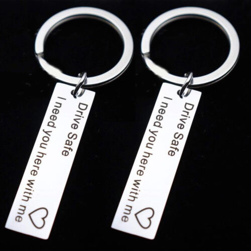 Collectables Drive Safe I Need You Here with Me Keyring