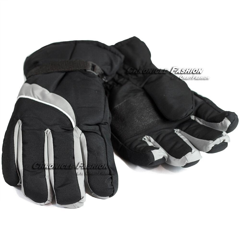 Mens Ski Winter Gloves Windproof Waterproof Warm Snowboard Outdoor Sports New