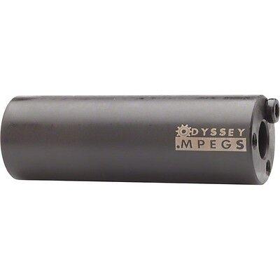 Odyssey Axle Pegs MPEG 14mm W3//8-Adaptor Black