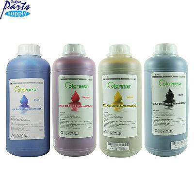 Eco Solvent Ink For Roland Mimaki Mutoh Printer 4 Liters Bulk Ink C M Y K