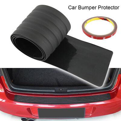 For Car SUV Rear Trunk Sill Plate Bumper Guard Protector Rubber Pad Black New