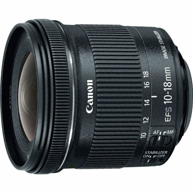 Canon EF-S 10-18mm f/4.5-5.6 IS STM Wide Angle Lens 10-18 F4.5-5.6 ~ Brand New