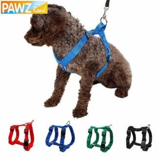 DOG PET HARNESS- PUPPY HARNESS COLLAR 3 sizes small, med & Large