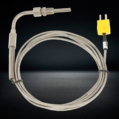 2m Egt K Type Thermocouple Exhaust Probe High Temperature Sensors Threads Hot
