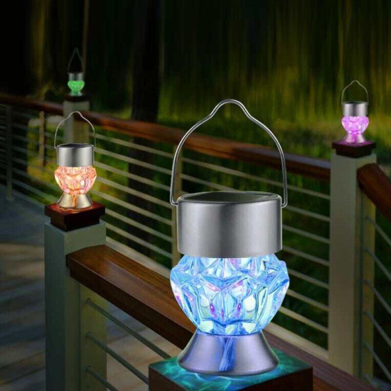 Solar Powered Led Lantern Lamp Hanging String Light
