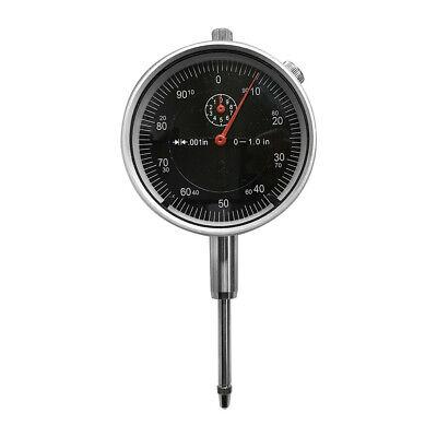 Black 1 High Precision Dial Indicator .001 Agd 2 Graduation Lug Back Gauge