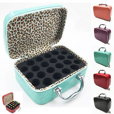 22 Slots! Women Essential Oil Bottle Carry Case Box Storage Aromatherapy Bag -