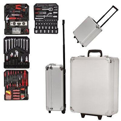 Grafner 399 teilig Werkzeug Trolley Set Werkzeugkasten Alu Werkzeugkoffer N587