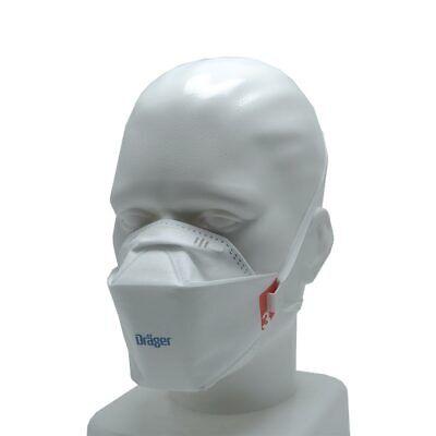 1x Dräger FFP3 Mundschutz Atemschutz Maske X-plore® 1930 Filtermaske Gr. M/L