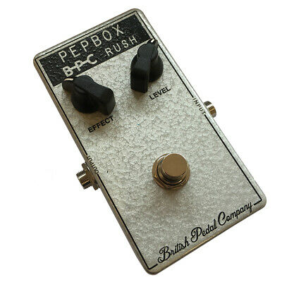 British Pedal Company Compact Series WEM Pepbox Guitar Fuzz Effects Pedal