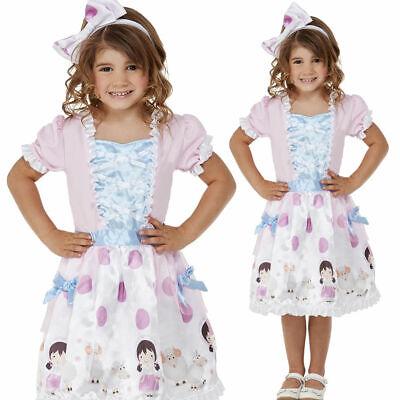 Toddler Bo Peep Costume Girls Storybook Fairytale Fancy - Bo Peep Outfit