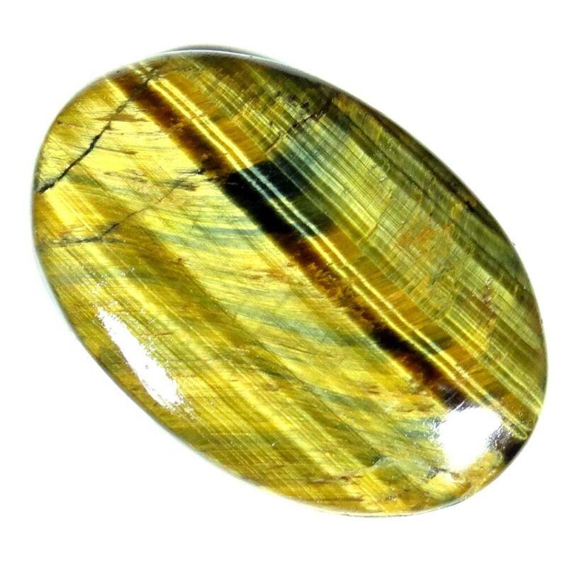 58.85Cts. 28X41X6mm. 100% Natural Designer Golden Tiger