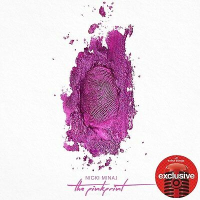The Pinkprint  Target Exclusive    By Nicki Minaj  Cd  New