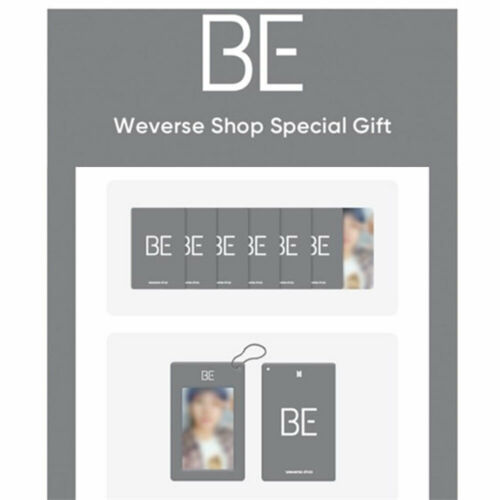 BTS Essential Edition Weverse Shop Special  [ Selfie Photocard +  Card Holder ]