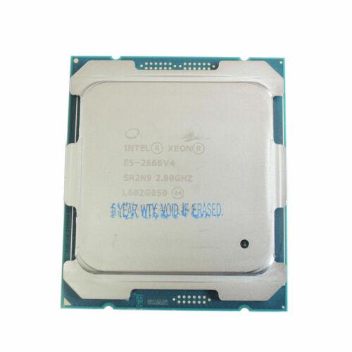 Intel XEON Processor E5-2666 V4 SR2N9 2.8GHZ 12Cores 24Threads LGA2011 ServerCPU