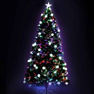 LED Christmas Tree - 180cm[XM-TR-LED-6F-MOON-GR]