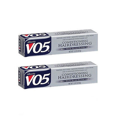 Alberto VO5 Conditioning Hairdressing Gray/White/Silver Blonde Hair (Pack of 2)