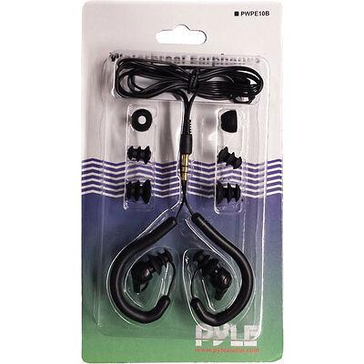 NEW Pyle Waterproof Marine Headphones  Earbuds compatible w/