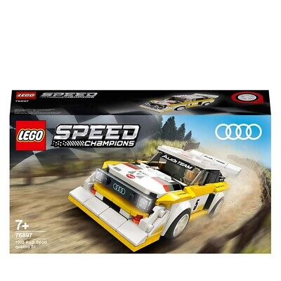 LEGO Speed Champions Audi Sport Quattro S1 Car Set 76897 Age 5+ 250pcs