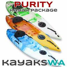 NEW Purity Single Kayak - With Extras Paddle and Backrest Midland Swan Area Preview