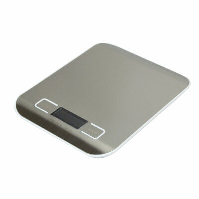 LCD Digital Kitchen Scale Postal Scale 5KG/1G Electronic Tabletop Scales White