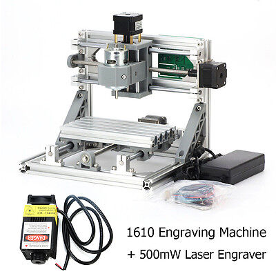 3axis Mini Usb Milling Machine Engraving Diy Cnc Router Kit500mw Laser Engraver