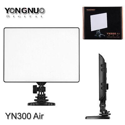 Yongnuo YN-300 Air 3200K-5500K Pro LED Video Light for Camcorder Nikon Canon UK