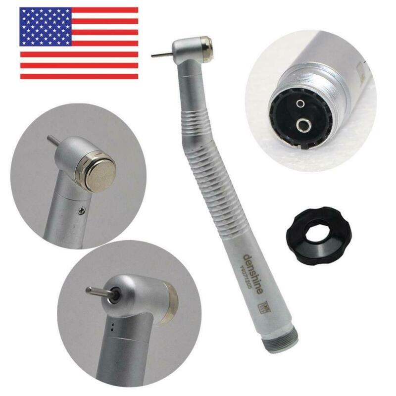 Dentist Dental High Speed Handpiece Standard Push Button Singel Spray 2 Holes US
