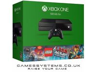 Upgrade your Xbox 360 PS3 or Wii + 3 games & get a brand new Xbox One 500GB + 2 games from £199.99!
