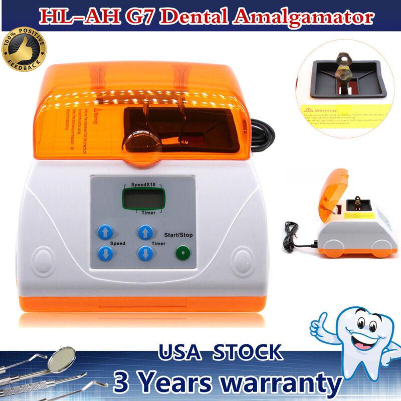 Digital Dental Lab G7 Amalgamator Amalgam Capsule Mixer Blender High Speed 20W